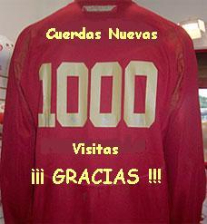1000 visitas....1000 gracias