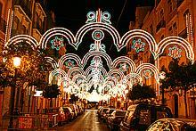 Los primeros premios (calles iluminadas)