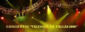Conciertos de Fallas 2008